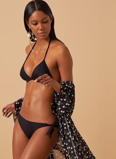 Loves You Bikini Üst Siyah